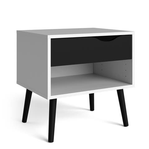 Carson Carrington Hjo 1-drawer Nightstand