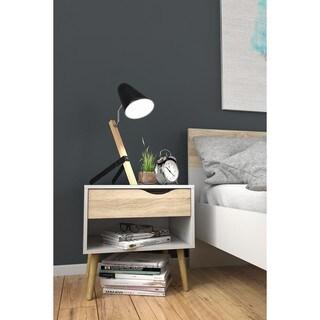 Carson Carrington Kristiansund Wood 1-drawer Nightstand