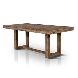 The Gray Barn Whiskey Rose Natural Tone Plank-style Dining Table