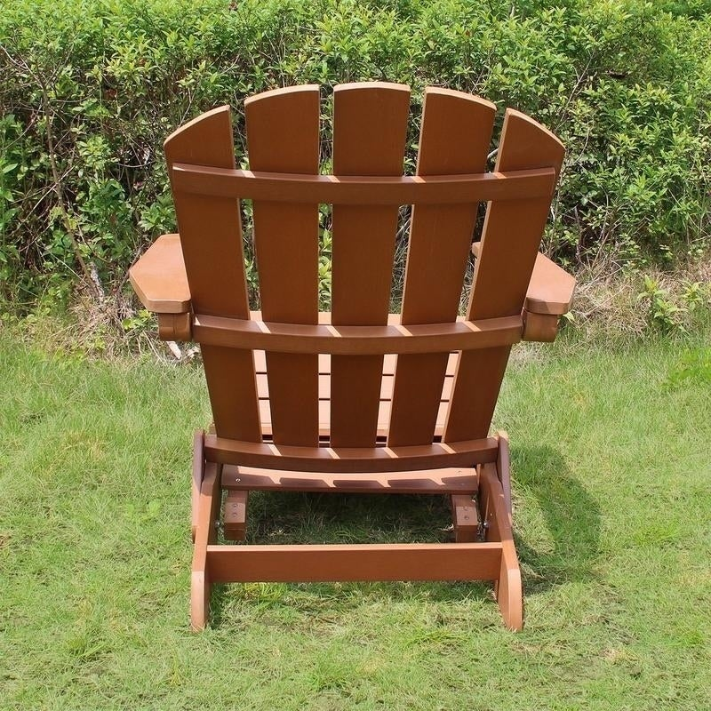 Magnificent Patio Lawn Garden Merry Products Garden Faux Wood Folding Cjindustries Chair Design For Home Cjindustriesco