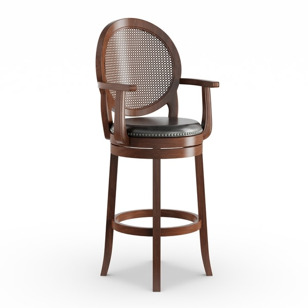 Shop Gracewood Hollow O Brian 30 Inch Wood Barstool With