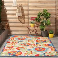 Copper Grove Alyssum Multicolor Indoor / Outdoor Rug