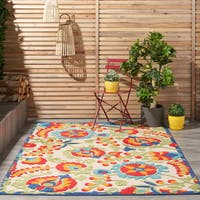 Copper Grove Alyssum Multicolor Indoor/ Outdoor Rug