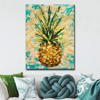 Havenside Home Pineapple' Canvas - Multi-color