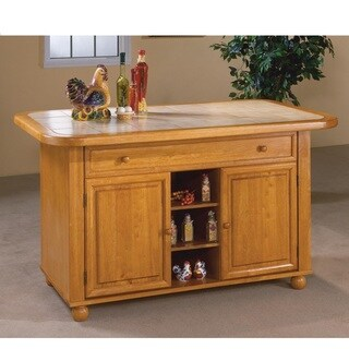 Copper Grove Matoba 3 ft. x 5 ft. Kitchen Island in 3 Finishes