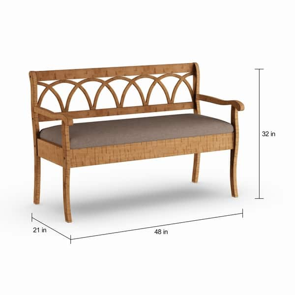 Pleasing Shop Copper Grove Watchorn Storage Bench With Seat Cushion Inzonedesignstudio Interior Chair Design Inzonedesignstudiocom