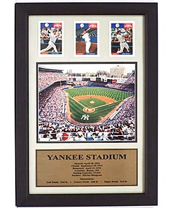 Yankee Stadium Three-card Frame