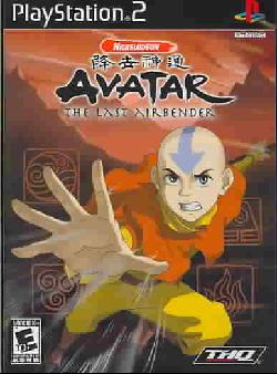 PS2 - Nickelodeon Avatar: The Last Airbender