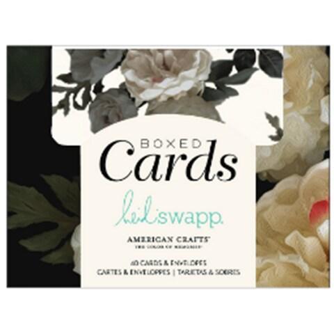 "Heidi Swapp A2 Cards W/Envelopes (4.375""X5.75"") 40/Box"