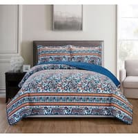 RT Designers Collection Cambria 3-Piece Reversible Quilt Set