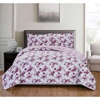 RT Designers Collection Brookville 3-Piece Reversible Quilt Set