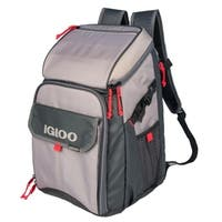 Igloo Outdoorsman Gizmo Backpack - Sandstone/Blaze Red