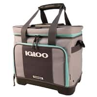 Igloo Stout Divided Marine Cooler - Gray/Seafoam
