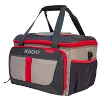 Igloo Outdoorsman Collapsible 50 - Sandstone/Blaze Red