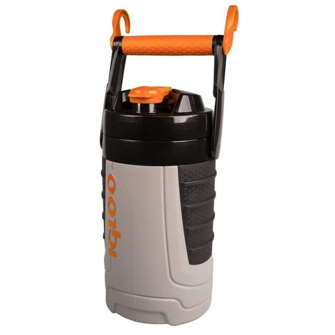 Proformance 1/2 Gallon Sport Jug - Ash Gray/Tough Orange