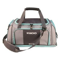 Igloo Marine Tactical Duffel Soft Side Cooler, Gray/Seafoam
