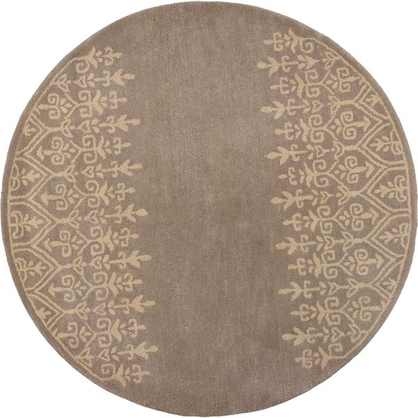 "Donny Osmond Home Harmony 8109 Mist Traditions 5'6"" Round - 5'6"" round"