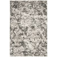 Safavieh Skyler Contemporary Charcoal / Ivory Rug - 4' x 6'