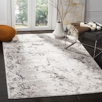 Safavieh Skyler Contemporary Grey / Ivory Rug - 5'1' x 7'6'