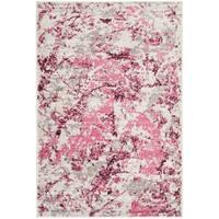 Safavieh Skyler Contemporary Pink / Ivory Rug - 5'1' x 7'6'
