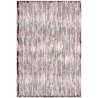 Safavieh Skyler Contemporary Grey / Pink Rug - 5'1' x 7'6'