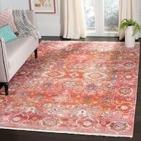 Safavieh Vintage Persian Vintage Red / Orange Polyester Rug - 5' x 7'6'