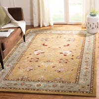Safavieh Hand-Hooked Total Performance Traditional Copper / Moss Rug (6' x 9')