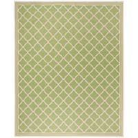 Safavieh Linden Contemporary Olive / Cream Rug - 8' x 10'