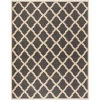 Safavieh Linden Contemporary Black / Creme Rug (8' x 10') - 8' x 10'