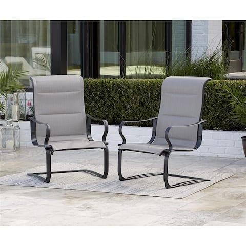 Avenue Greene Tool-Free Sling Chairs, 2 Pack