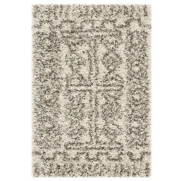 Shop Safavieh Hudson Shag Ivory / Grey Rug
