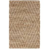 Safavieh Hand-Knotted Bohemian Contemporary Natural / Ivory Jute Rug (2' x 3') - 2' x 3'