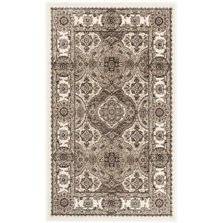 Safavieh Atlas Traditional Ivory / Ivory Viscose Rug (2'2' x 3'7')