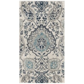 Safavieh Madison Vintage Cream / Light Grey Rug (2'3' x 4')