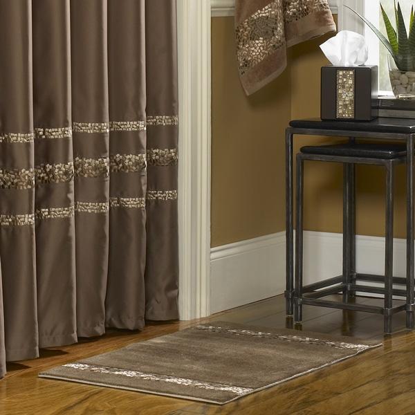 Shop Croscill Mosaic Shower Curtain On Sale Free