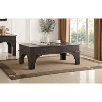 Acme Elvira Coffee Table in Antique Espresso