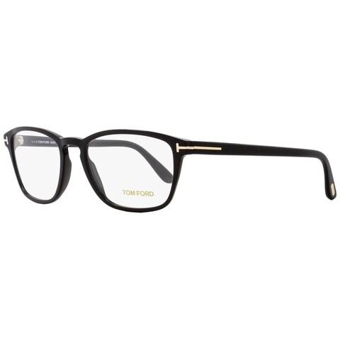 Tom Ford TF5355 001 Unisex Black/Gold 56 mm Eyeglasses