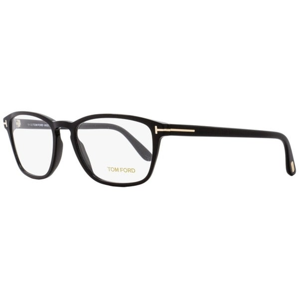 6a0ef811356 Shop Tom Ford TF5355 001 Unisex Black Gold 56 mm Eyeglasses - Free ...