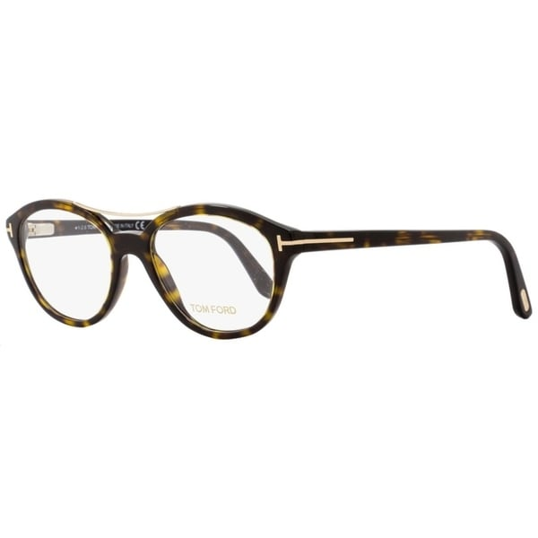 9e751c4c1d41a Tom Ford TF5412 052 Unisex Dark Havana Gold 52 mm Eyeglasses - dark havana