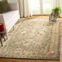 Safavieh Hand-Hooked Total Performance Traditional Copper / Moss Rug (2' x 4') - 2' x 4'