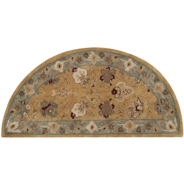 Safavieh Hand-Hooked Total Performance Traditional Copper / Moss Rug (2' x 4')