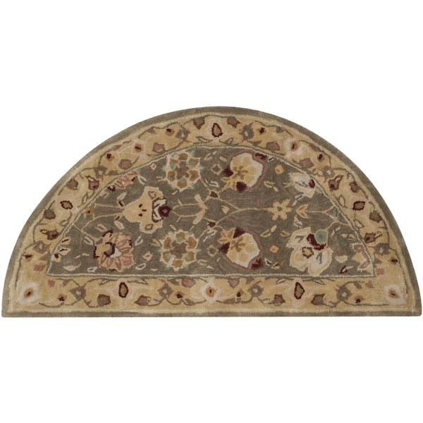 Safavieh Hand-Hooked Total Performance Traditional Sage / Beige Rug (2' x 4') - 2' x 4'