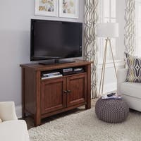 Home Styles Tahoe Aged Maple Wood Entertainment Stand
