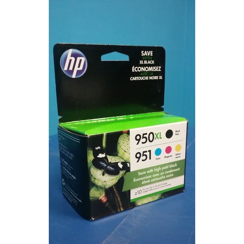 HP 950XL/951 HY Black Standard Tri-Color Ink Cartridges,C2P01FN