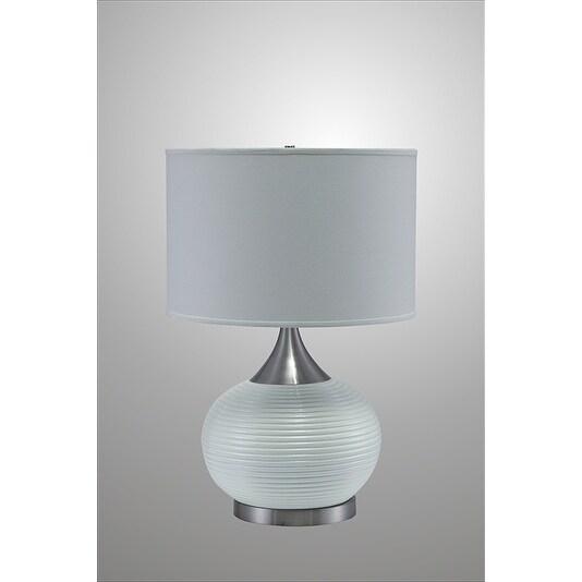 24.5 Inch High Horizon Ceramic/ Metal Table Lamp