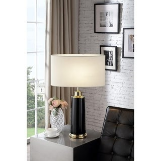 27.5 Inch Polaris Black Table Lamp