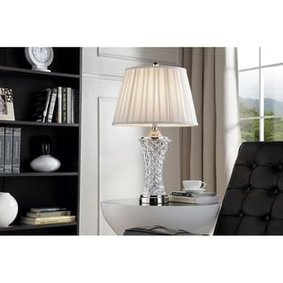 Link to 28.5 Inch Cordelia Glass Table Lamp Similar Items in Table Lamps
