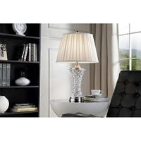 28.5 Inch Cordelia Glass Table Lamp
