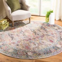Safavieh Harmony Vintage Light Purple / Rose Rug (7' x 7' Round)