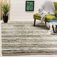 Safavieh Hand-Woven Montauk Contemporary Beige / Multi Cotton Rug - 6' x 6' Square